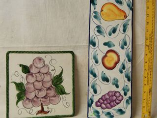 Decor   Trivet Ceramic Pot Holders   wow