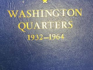 Book of Washington Quarters   HUGE Collection 1932 1964   Silver Quarters   MOTHER lOAD HERE  lOOK   FUll   lOOK
