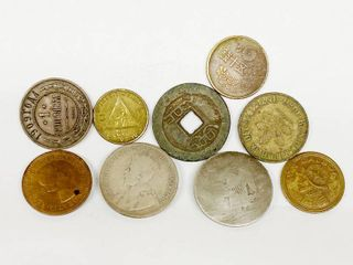 lot of Old Coins   lOOK HARD   You Might Find A Silver AMERICAN Coin