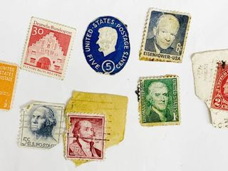 Misc Vintage Stamp Collection