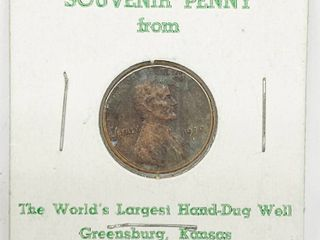 1979 SOUVENIR PENNY From The World s largest Hand Dug Well   GREENSBURG  Kansas