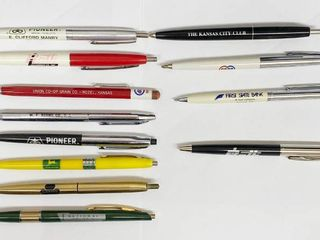 Vintage Advertising Ink Pen Collection