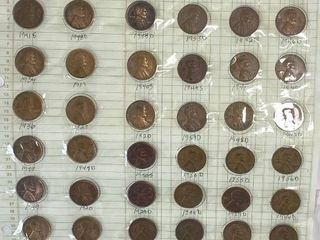 Huge lincoln Head Penny lot