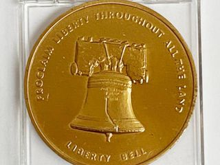 Independence National Historical Park Coin   Independence Hall   liberty Bell