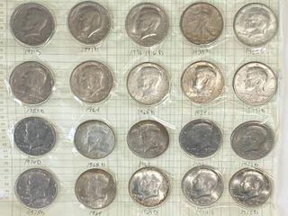 Big lot of Kennedy Half Dollars   Some Silver