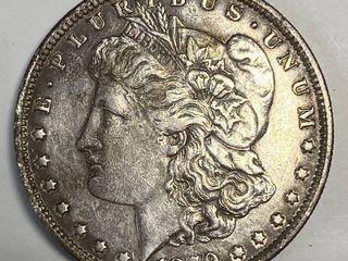 1879 Morgan Silver Dollar   Very Collectible