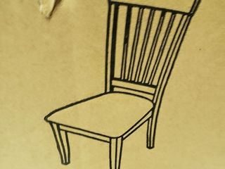 Wooden Dining Chair w  Cushion