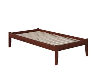 Concord Slat Kit for Platform Bed   Queen   Walnut   slats and legs only