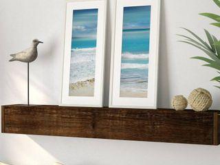 Simply Caribbean Framed Printed Art  2 Piece Set