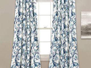 lush Decor Dolores Room Darkening Floral Curtain Panel Pair   Set of 2