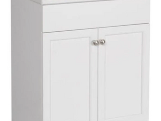 Project Source Vanity w  No Top  White