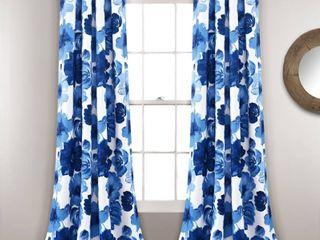 lush Decor leah Room Darkening Curtain Panels   Set of 2