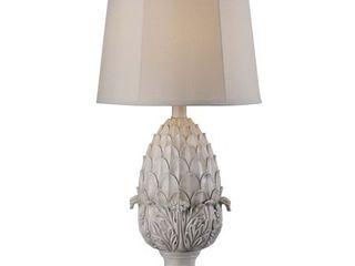 Portia White 30  Indoor Outdoor Table lamp