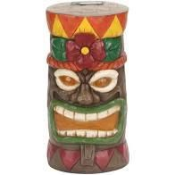 tiki satue solar light