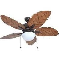 Harbor Breeze Waveport 52 in Bronze led Indoor outdoor Ceiling Fan W kit  5blade
