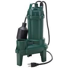 Zoeller 1 3 hp submersible sewage pump