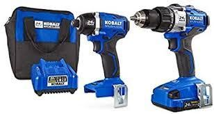 Kobalt Drill and Impact Driver with Battery and Charger