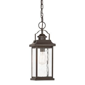 Kichler lighting linford 15 75 in Olde Bronze Outdoor Pendant light
