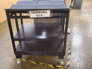 Metal Stationary Cart