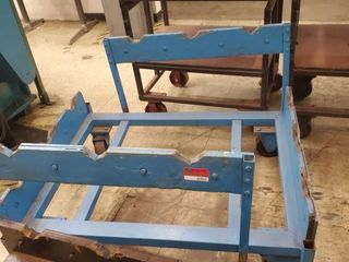 Heavy Duty Metal Rolling Cart