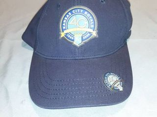 Kansas City Royals 40th Anniversary 1969 2009 Velcro Back Baseball Hat