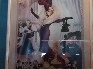 Framed Autographed Poster of Mae West