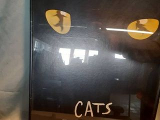 Framed Broadway Musical Cats Poster