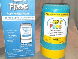 Pool Frog Mineral Reservoir for Pools Up to 25 000 Gallons New in Box
