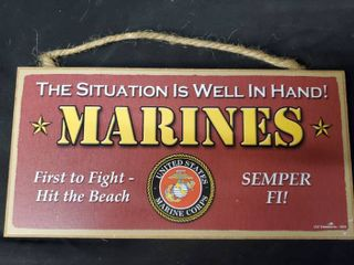 The Situation is Well in Hand Marines