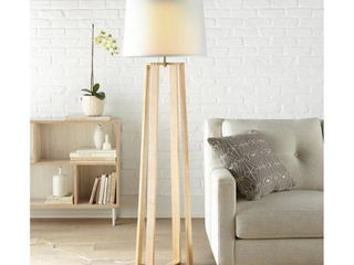 Scott living 65 75 in Natural Shaded Floor lamp
