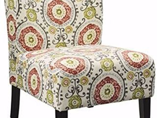 Upholstered Honnally Accent Chair   Floral