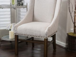 Fabric Upholstered Bar Stool Chair