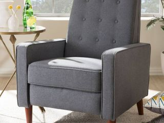 Traditional Fabric lounge chair