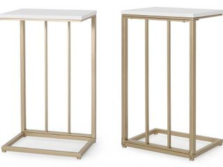 Baywinds Modern C Side Table  Set of 2