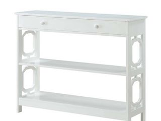 Omega 1 Drawer Console Table