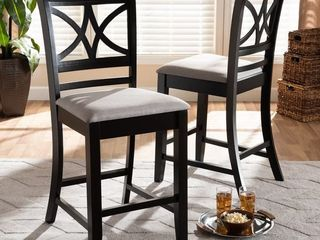 Aileur 2 piece Counter height Pub Chairs