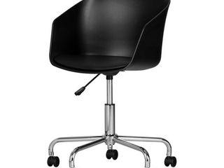 Flam Swivel Chair  Black