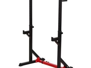 Bench Press Barbell Squat Rack and Bench Press