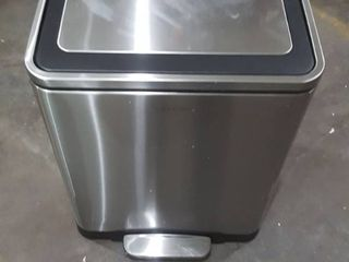 HappiMess Stainless Steel Dual Trashcan