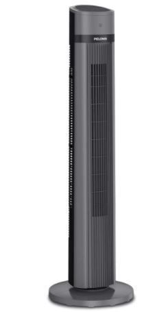 Pelonis Pft40a4agb Electric Oscillating Stand Up Tower Fan  40 inch  Black 2020
