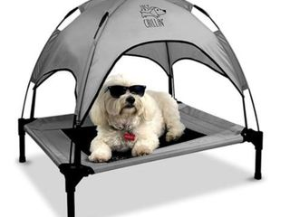 Floppy Dawg Elevated Bed w Canopy