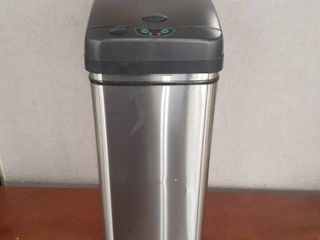 13 Gallon Stainless Touchless Trash Can