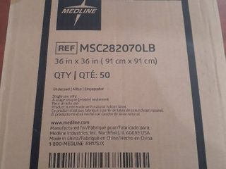 MEDlINE 36in x 36in Underpad 50 count