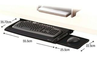 Fellowes 8031201 Office Suites Deluxe Keyboard Drawer