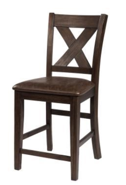 Hillsdale Furniture Emmond X Back Non Swivel Counter Height Stool