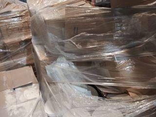 pallet of membrane and grout