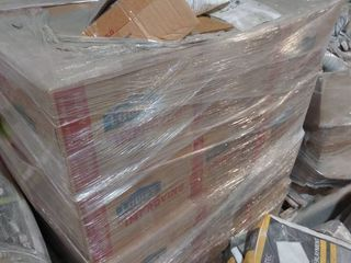 40 boxes of grout on pallet