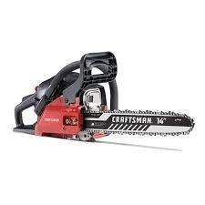 Craftsman 14  2 stroke chain saw