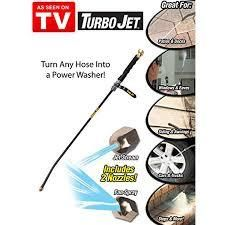 Turbo Jet 1000243 33  X 4 76  X 1 3  Black Turbo Jet Power Washer