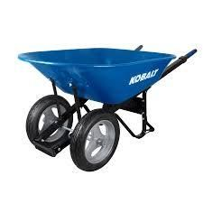 Kobalt 7 cubic ft wheel barrel